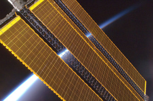 International Space Station solar array