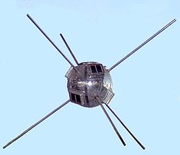 Vanguard 1 showing of solar array