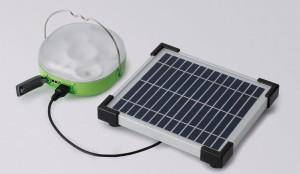 solar lantern and solar panel
