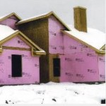 thermal insulation pink house public domain