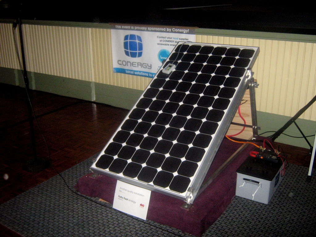 standalone solar power system