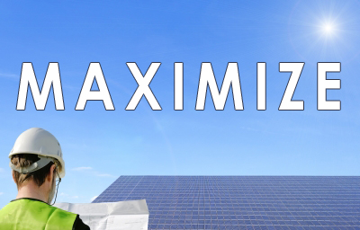 maximize your solar power